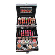 Miss Young Makeup Kit Box - Silber holographisch