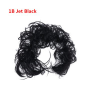 Messy Curly Haarknoten # 1B - Jet Black