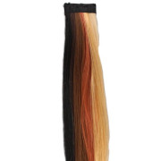 Crazy Color Clip On Haarextensions - Dark mix, 50 cm
