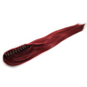Ponytail Extensions hair claw, Straight - redbrown #33