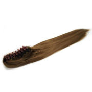 Ponytail Extensions hair claw, Straight - Lightbrown #6