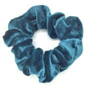* Scrunchie hårelastik, dark mint