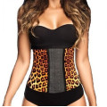 AVA® Waist Trainer Latex  - Leoparden