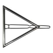 SOHO® Triangle Hair Clip - Silber