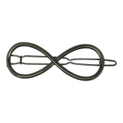 SOHO® Eternity Metal Hair Clip - Silber
