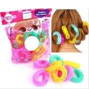 Fashion Spiral Hair rollers / Curlers 8 stück