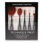 Technique PRO® Oval Brushes, Makeup Pinsel - 5 Stck.