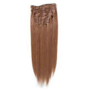 Clip In Extensions 50 cm #30 Rotbraun